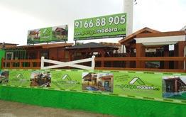 Pergomadera exposicion de casetas de madera fabricacion de casetas de madera madrid avila - Casetas de madera madrid ...