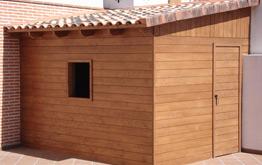 Casetas de madera venta montaje instalacion madrid for Casetas de madera exterior