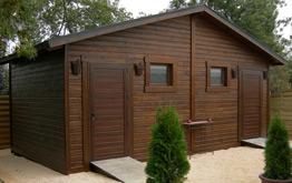 Casetas de madera venta montaje instalacion madrid for Casetas para terrazas